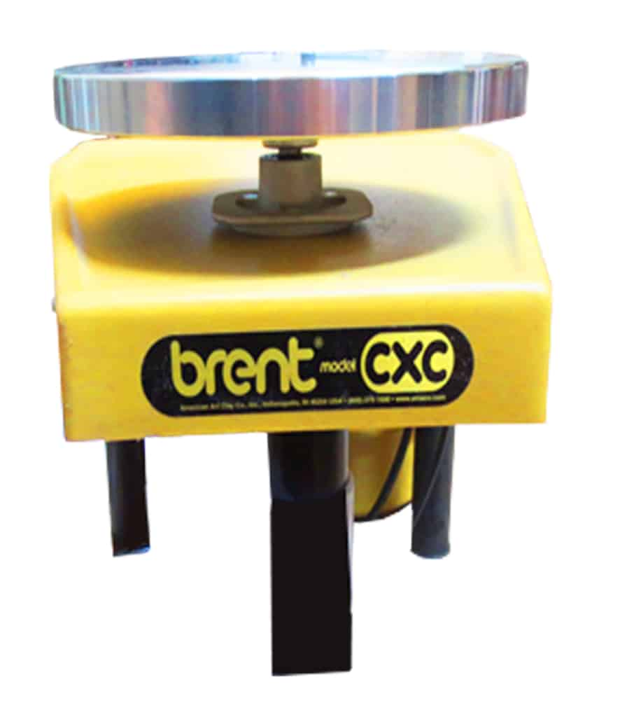 picture of a brent cxc pottery wheel