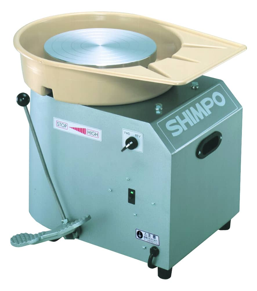 a picture of the shimpo pottery wheel