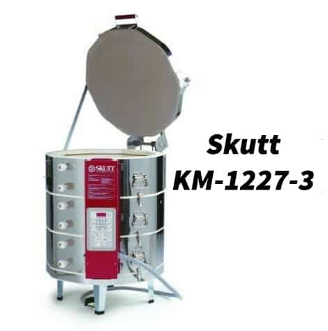a picture of a Skutt KM-1227-3 kiln