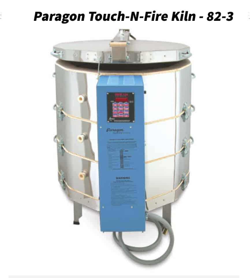A picture of a Paragon Touch-N-Fire Kiln - 82-3 kiln