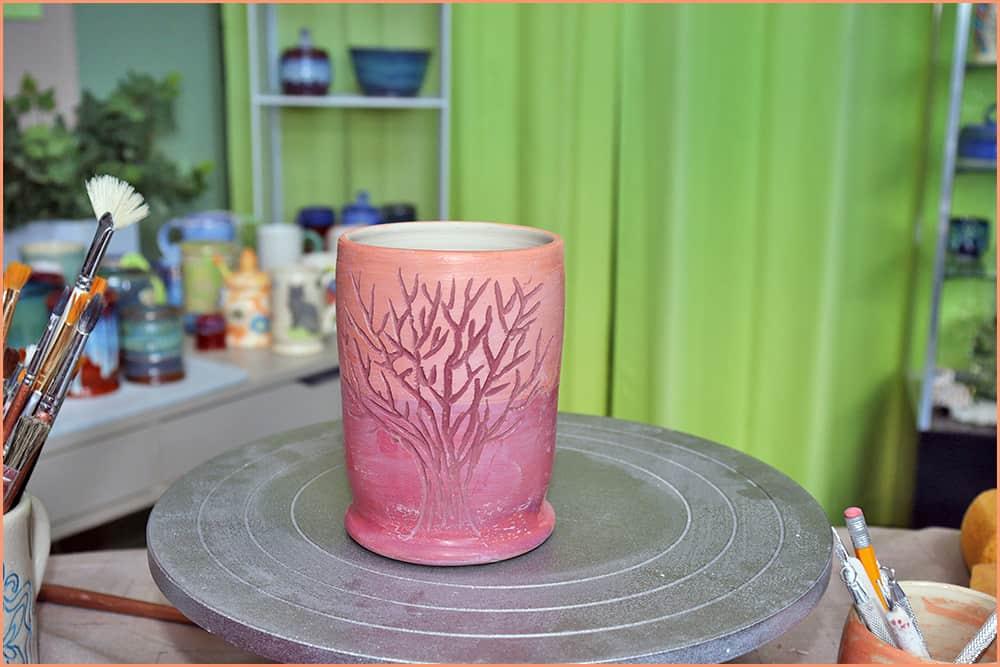 a picture of Mishima mug