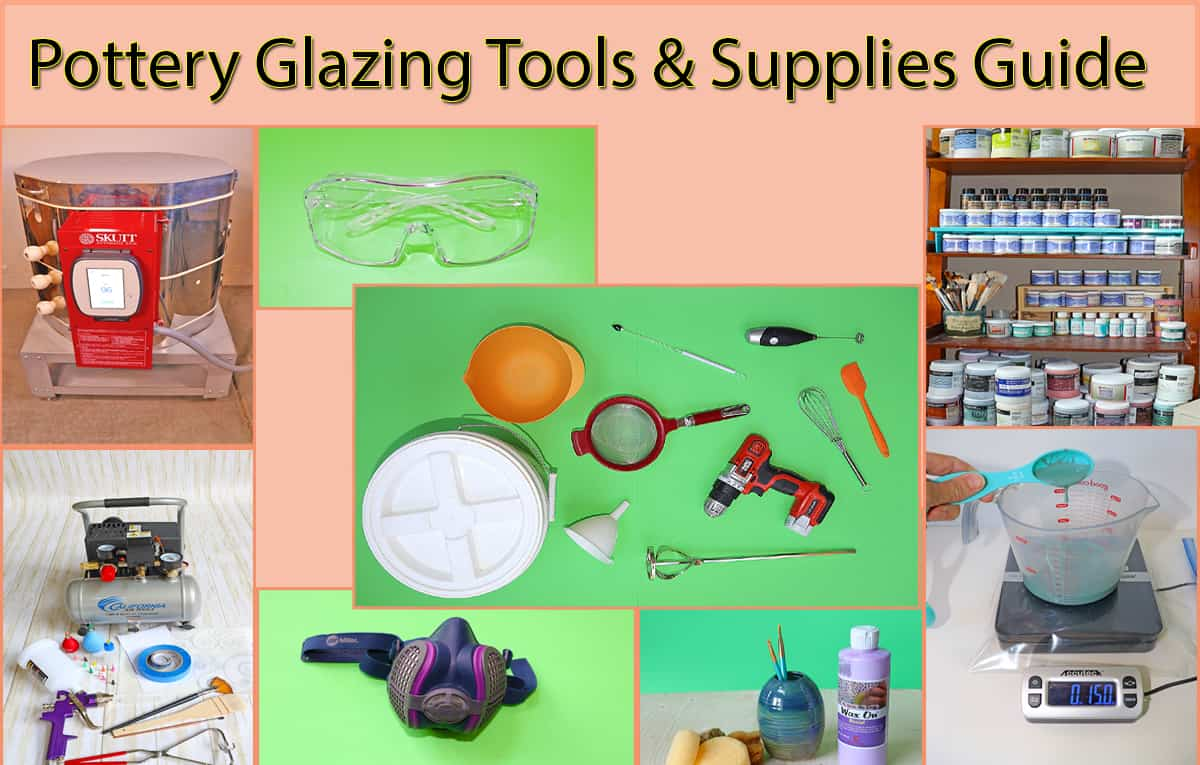 Ultimate Pottery Glazing Tools & Supplies Guide