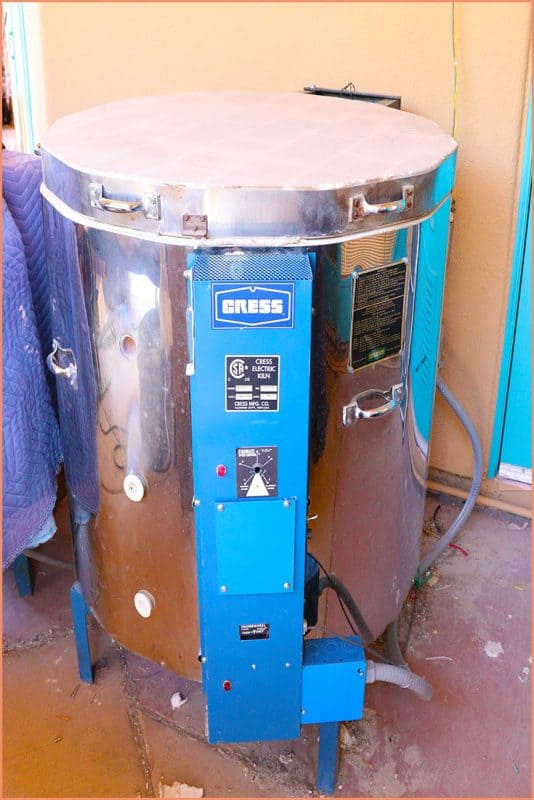 a picture of a used cress kiln