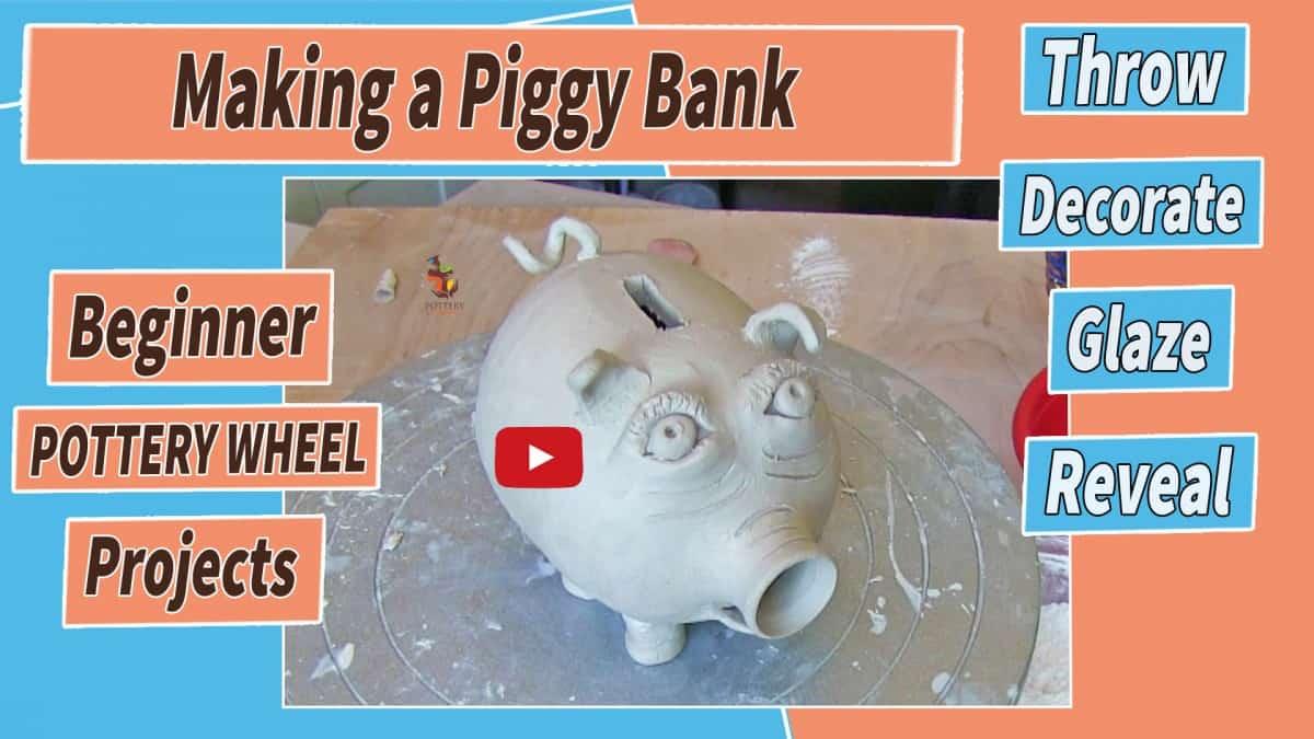 making a piggy bank