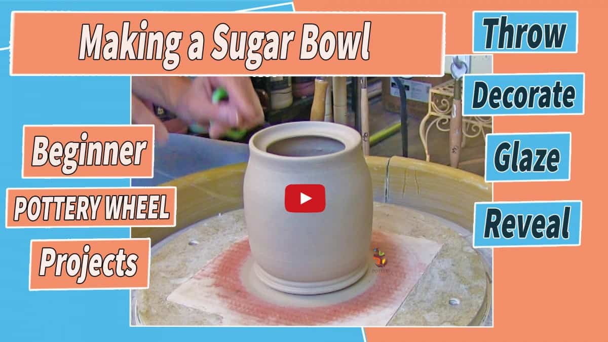making a sugar bowl