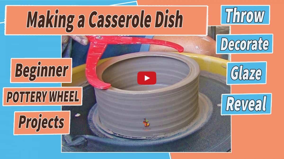 making a casserole dish