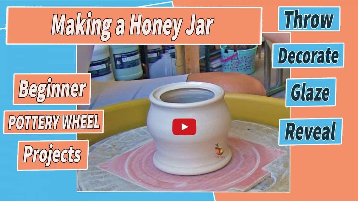 making a honey jar
