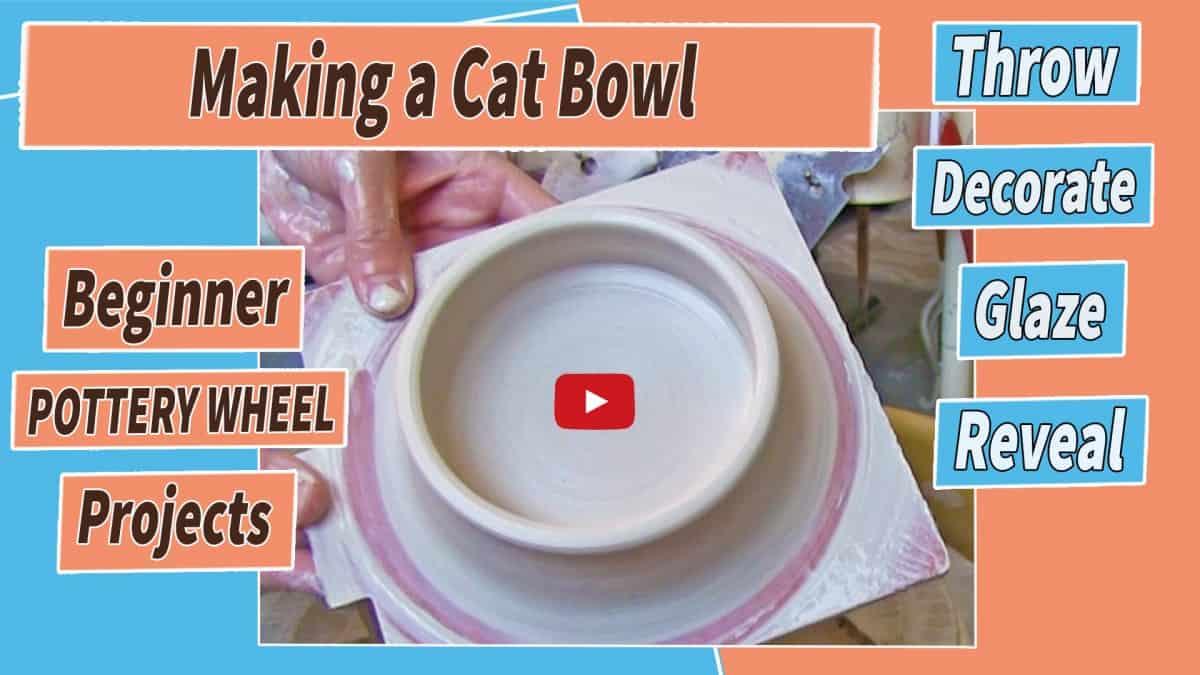 making a cat bowl