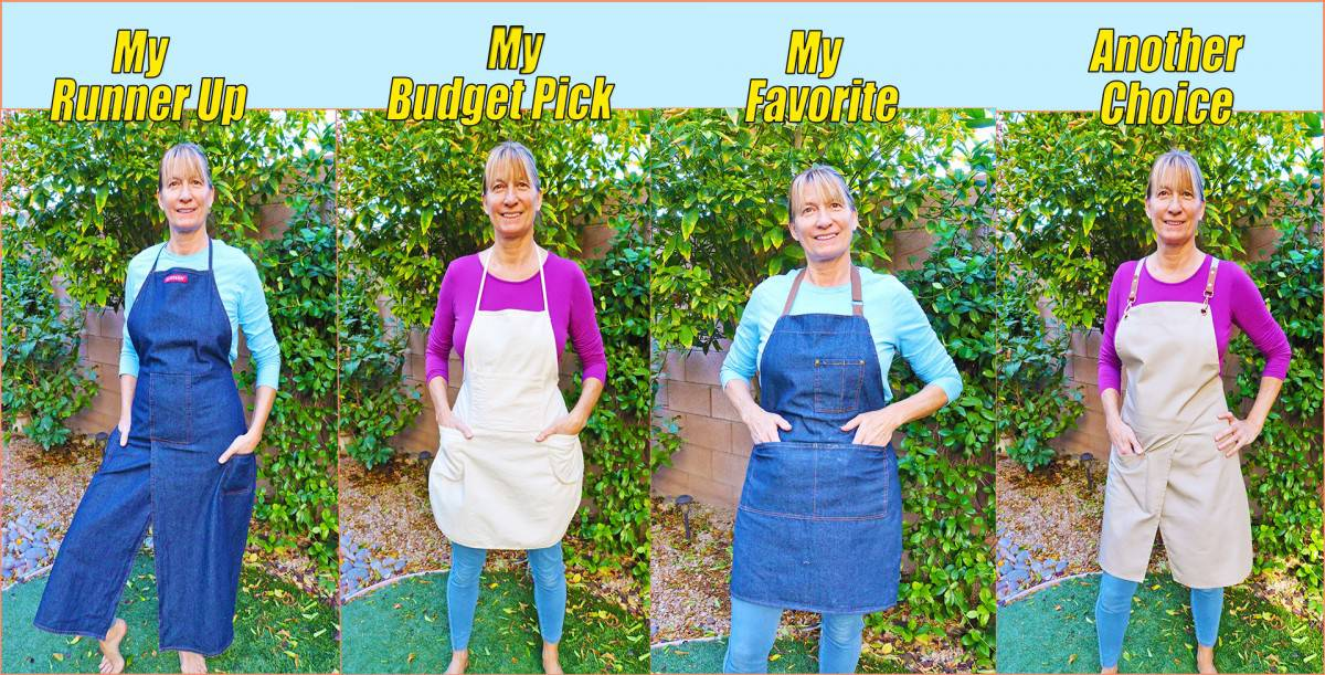 The Best Aprons for Potters