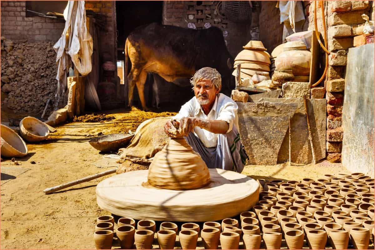 Traditional Pottery Wheel History