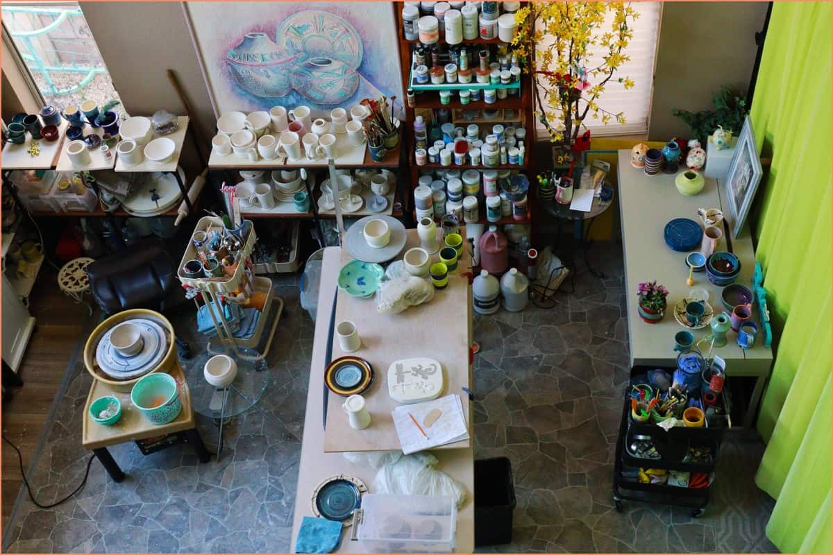 How to Start a Home Pottery Studio