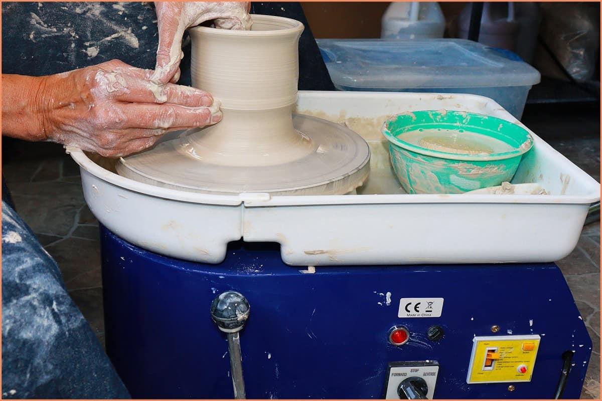 making a mug