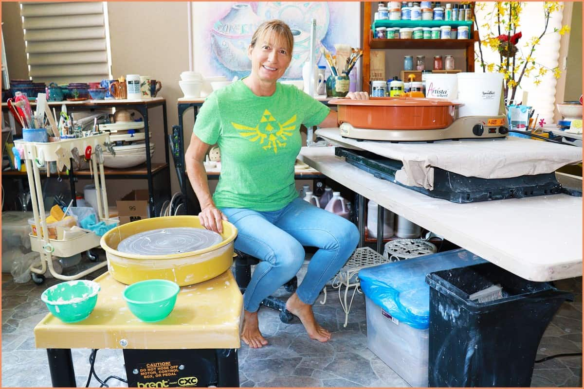 Pottery Wheel Positions and Posture – All You Need to Know