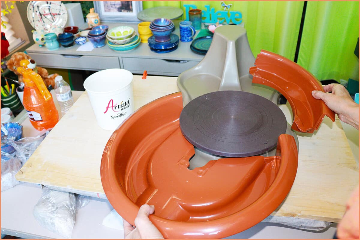 A picture of the Artista Splash pan