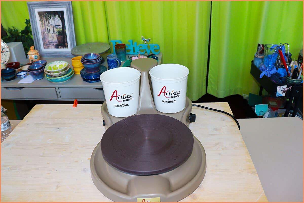 A picture of Artista Pottery wheelhead